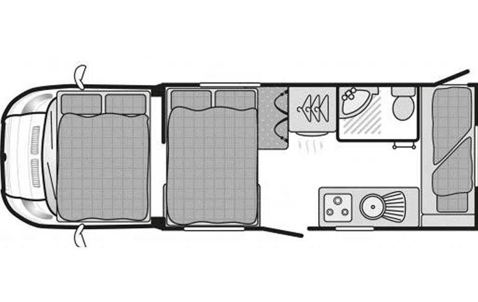 4-6 Night Floor Plan